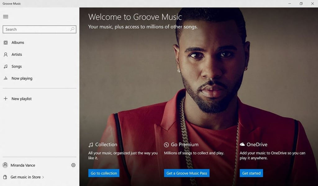 Xbox Music Streaming