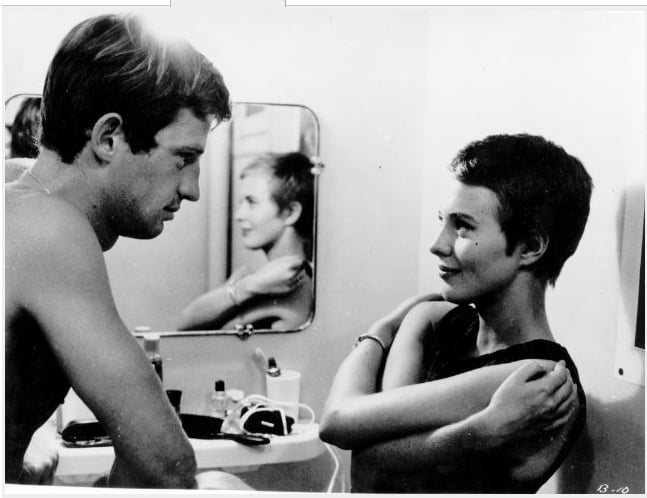 Jean Seberg's Breathless Crop