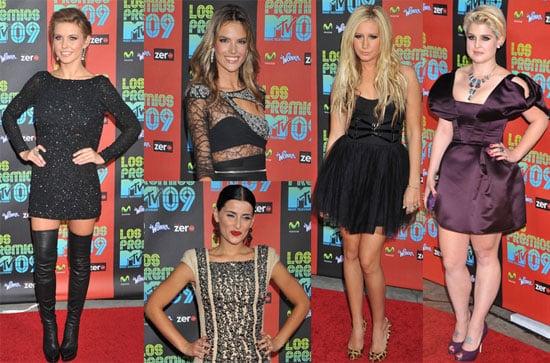 Photos From the 2009 MTV Los Premios Award Show in LA 2009-10-16 14:30:09