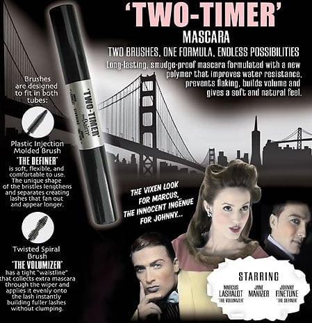 New Product Alert: The Balm Two-Timer Mascara