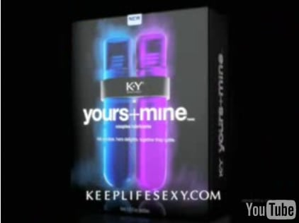 K-Y Brand: Yours+Mine Couples Lubricant