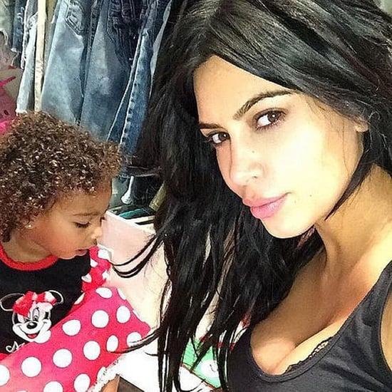 North West Scared of Kim Kardashian's Snapchat Video 2016