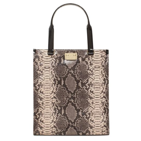 A snake-print pattern lends a luxurious touch to this Kate Spade Millenium Park Pacey bag ($159, originally $528).
