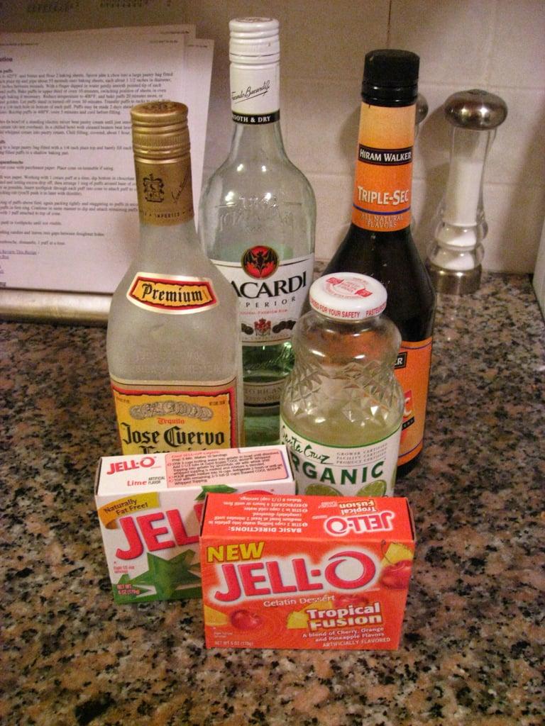 Happy Hour: Jell-O Shots Three Ways