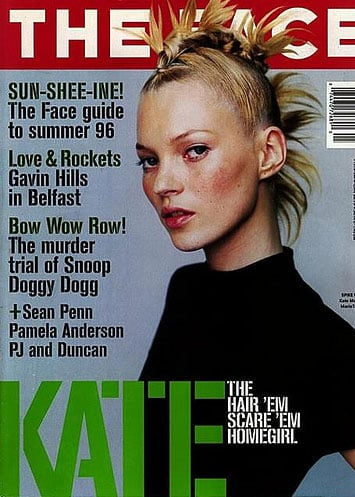 May 1996: Kate Moss