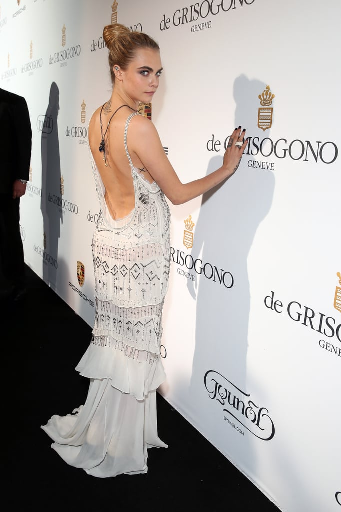 Cara Delevingne at the Fatale in Cannes Party