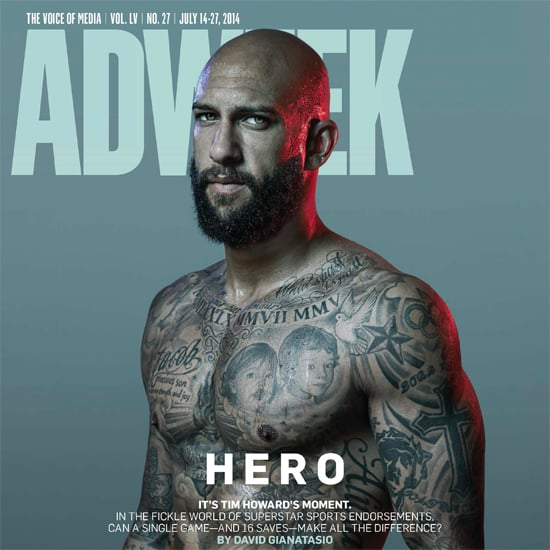 Tim Howard Adweek Interview July 2014