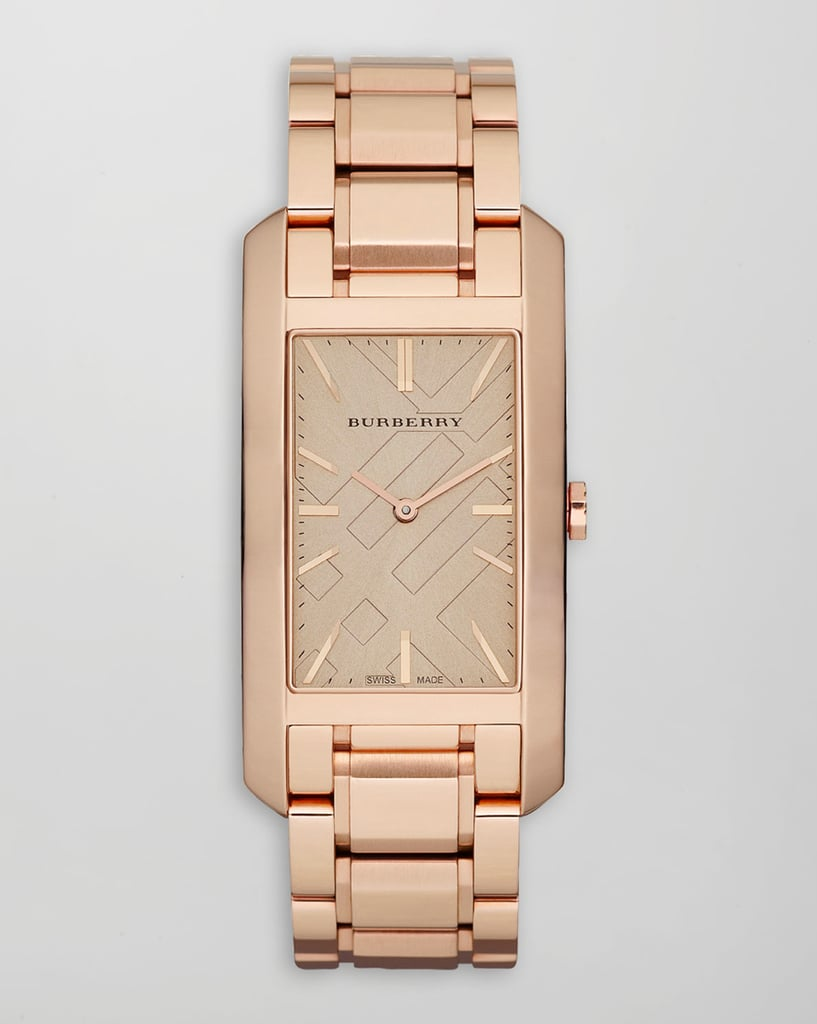 This Burbery Ion-Plated Watch ($750) would make me very, very happy this holiday season — and for years to come.  — Hannah Weil, associate editor