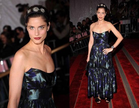 The Met's Costume Institute Gala: Amanda Peet