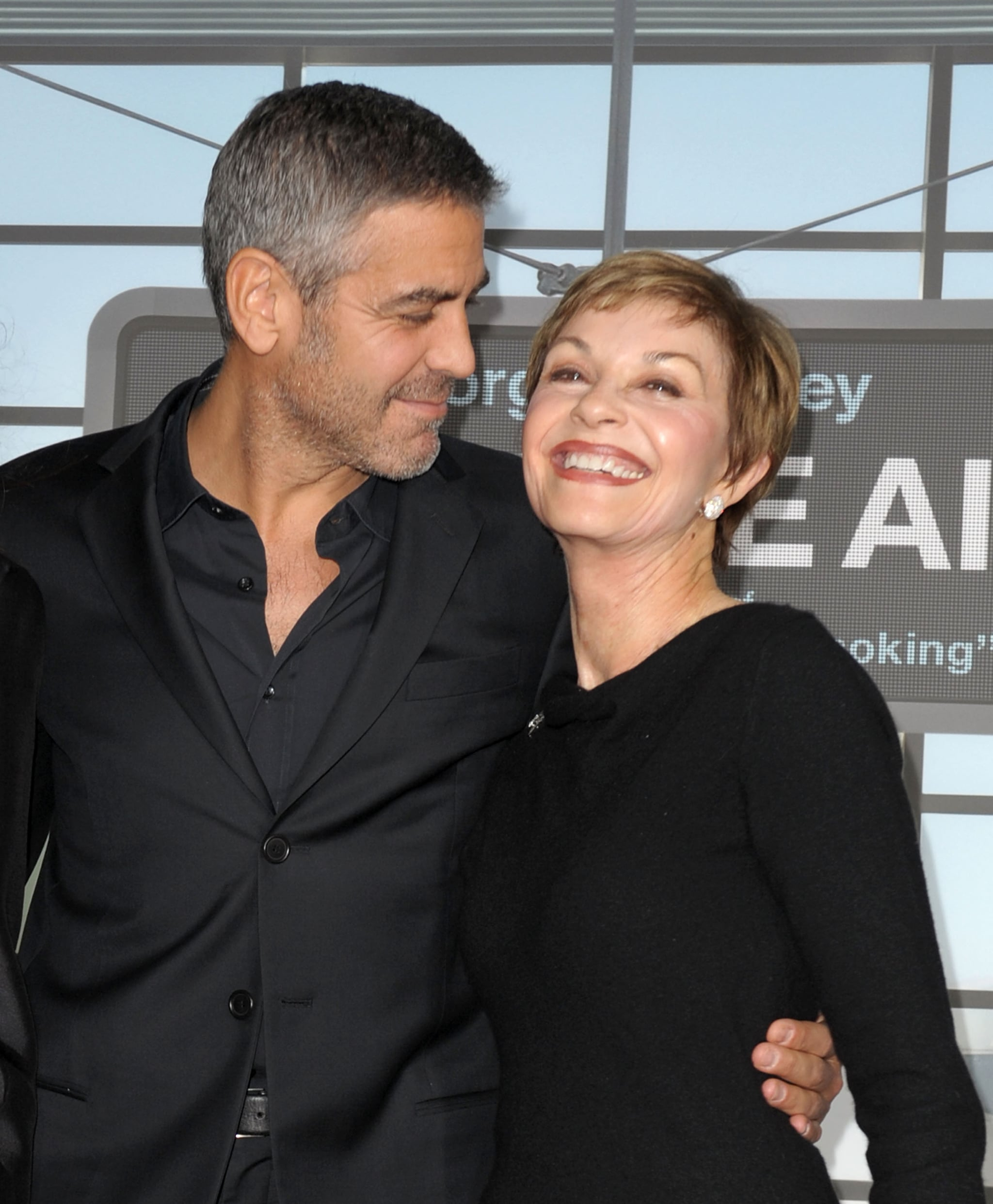 George Clooney and Nina Bruce Warren