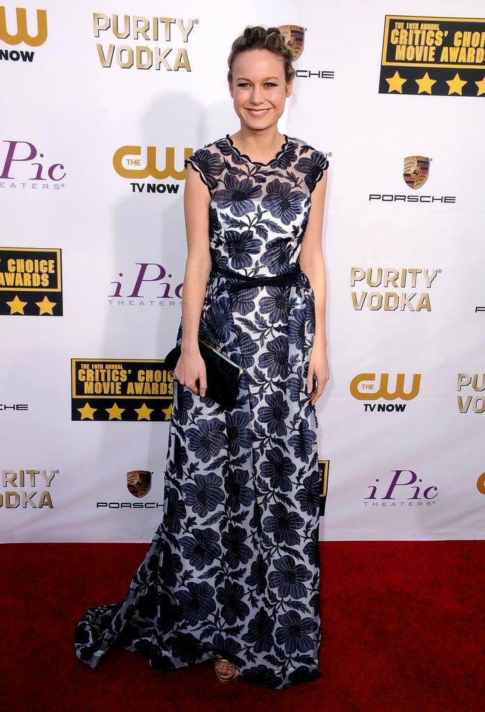 Brie Larson at the Critics' Choice Awards 2014