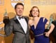 Jeremy Renner and Amy Adams Held Their SAG Awards High
