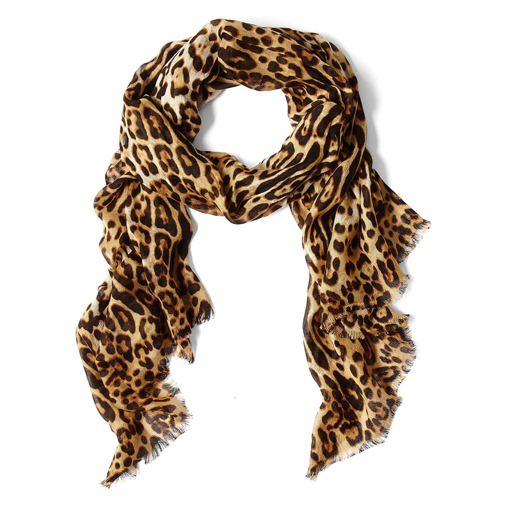 Who isn't a fan of the little pop of leopard a look can get from this Joe Fresh scarf ($11, originally $16)?