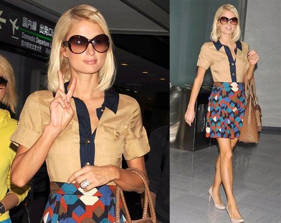 Paris Hilton Launches Dollhouse Clothing Line