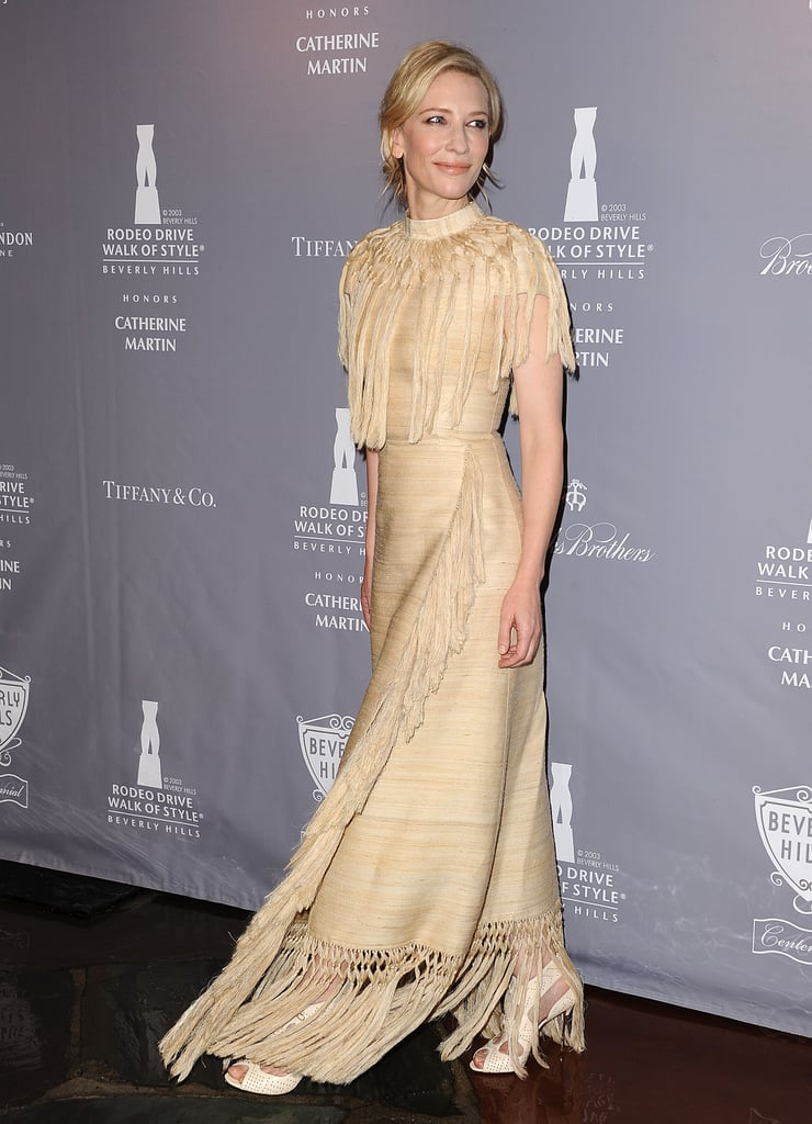 Cate Blanchett attended the Rodeo Drive Walk of Style Awards on Friday.