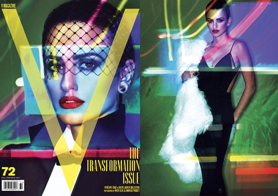 Penelope Cruz Gets Sexy to Talk Johnny Depp, Motherhood, and More in V Magazine