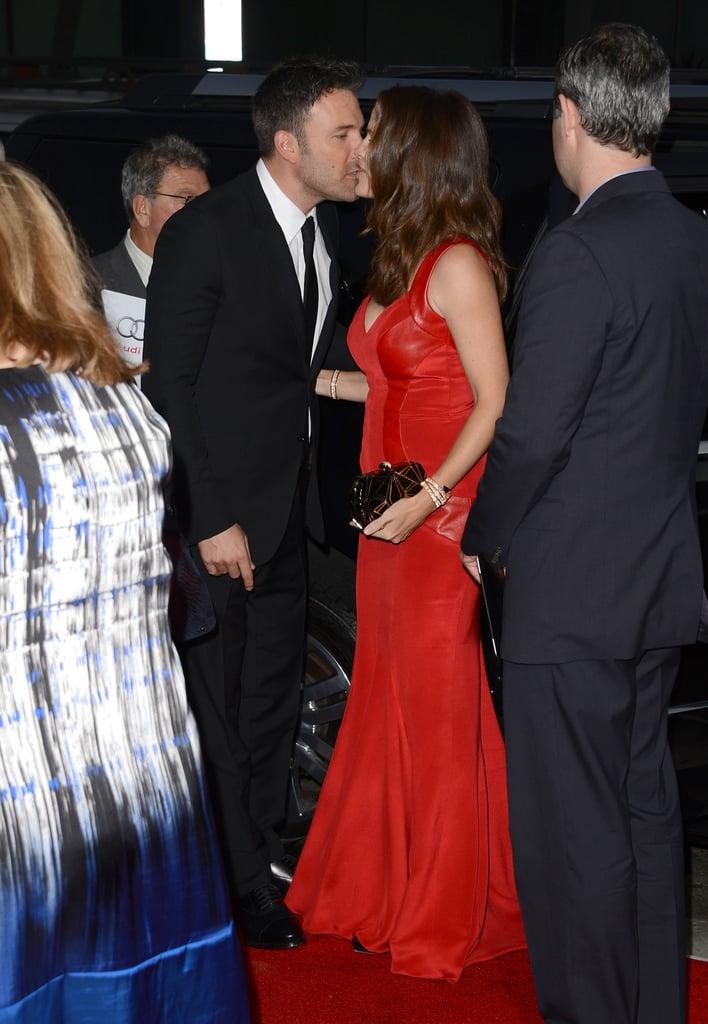 Ben Affleck and Jennifer Garner locked lips at the LA premiere of Argo in October 2012.