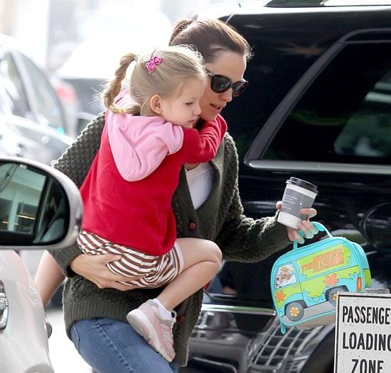 Pictures of Jennifer Garner With Violet Affleck in LA