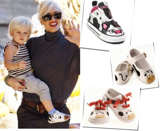 Picture of Gwen Stefani and Zuma Rossdale at Pumpkin Patch