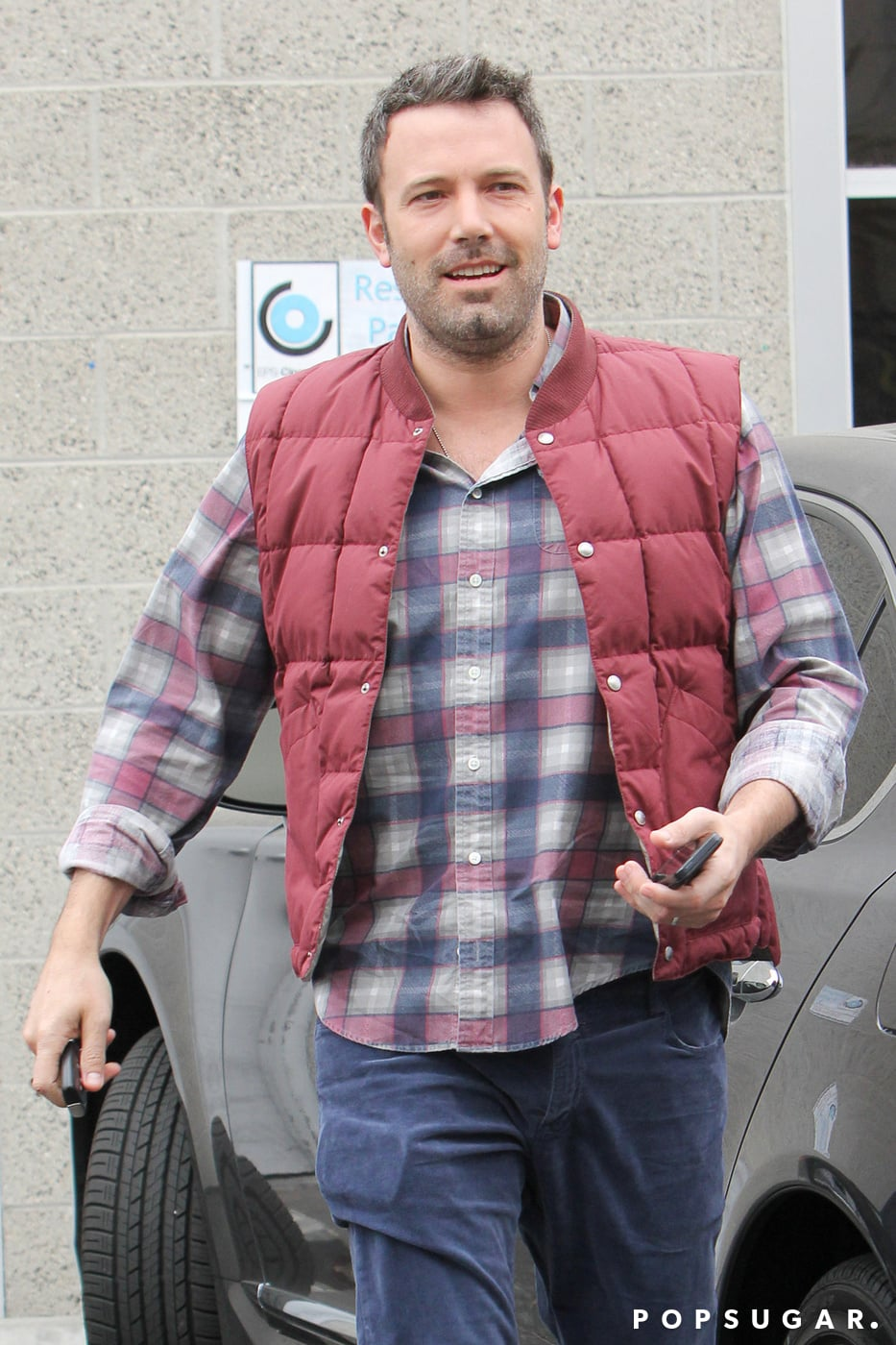 Ben Affleck Smiles While Scraping By on $1.50 a Day