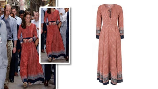 Kate Middleton's Pretty Maxi Dress Costs Just $77–Find Out Where To Buy It