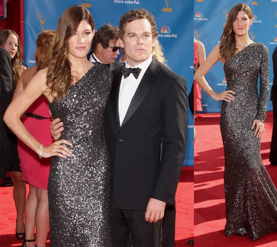 Pictures of Michael C. Hall and Jennifer Carpenter at the Emmys