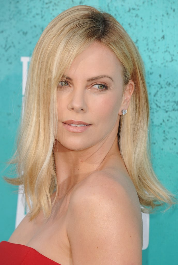 Charlize Theron went to the MTV Movie Awards.