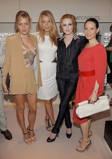Chloe Sevigny, Lucy Liu, Blake Lively, and Evan Rachel Wood Attend Swarovski Store Opening in NYC