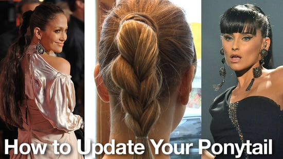 How to Get a Braided Ponytail