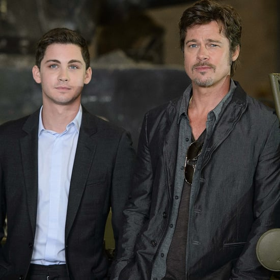 Logan Lerman Fury Interview