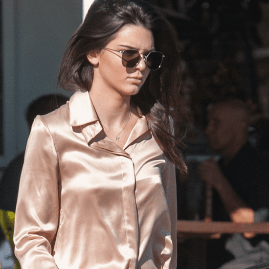 Kendall Jenner Wearing Pink Outfit