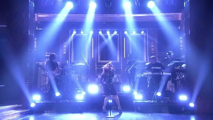 Meghan Trainor on The Tonight Show Starring Jimmy Fallon in 2016