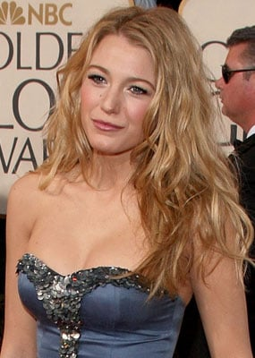 Blake Lively's Makeup at the Golden Globes