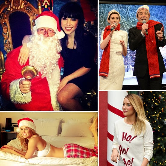 Stars Get in the Christmas Spirit!