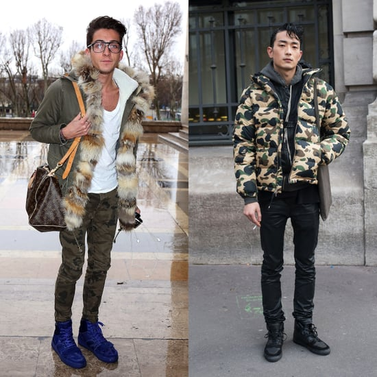 Shop For Camouflage Menswear Trend