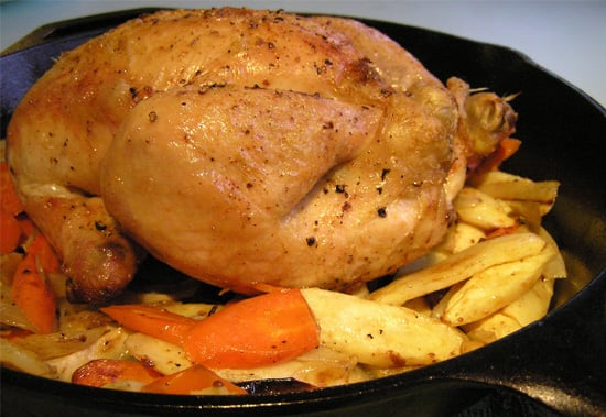 Roasted chicken is his favorite meal, hands down.