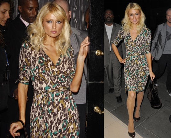 Photos of Paris Hilton in London 2008-10-08 16:00:22
