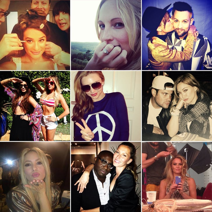 Glam Squads, a Surprise Engagement, and More of the Week's Cute Celebrity Candids