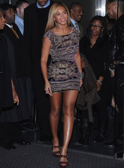 Pictures of Beyonce Knowles at the Premiere of Her Tour Movie 2010-11-22 09:15:00