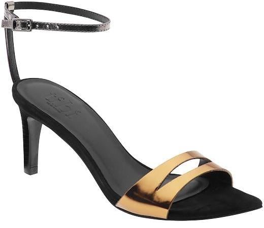 Our editors are obsessed with this Tibi Louise heel ($365), the most walkable of cocktail-appropriate sandals.