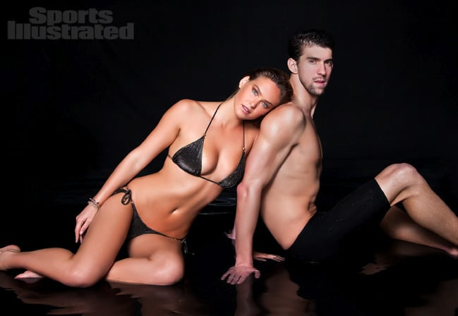 Bar Refaeli and Michael Phelps got together.