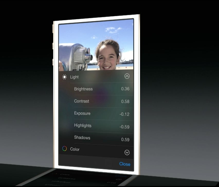 Built-In Photo-Editing Features