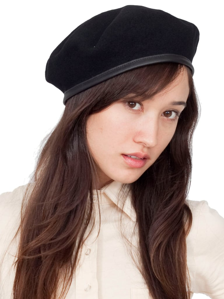 If you're feeling the trend in a big way, channel Marc by Marc Jacobs and Jason Wu's runway shows with a cool cadet hat. American Apparel Unisex Wool Military Beret ($27)