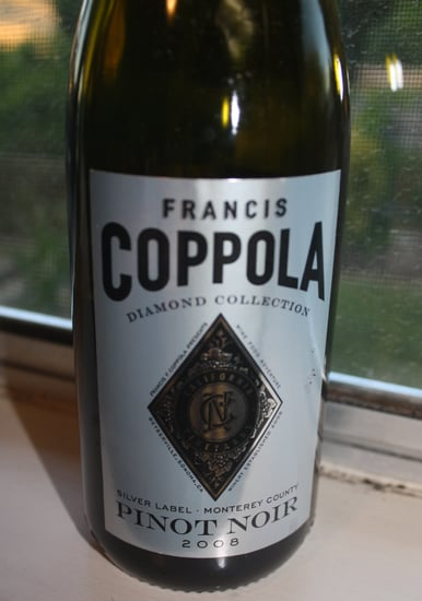 Review of Francis Coppola Diamond Collection 2008 Pinot Noir