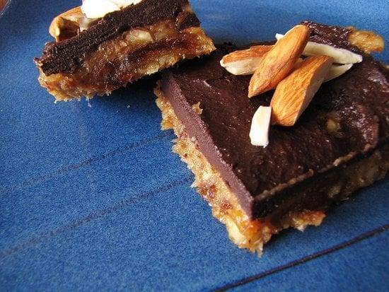 No-Bake Chocolate Almond Squares