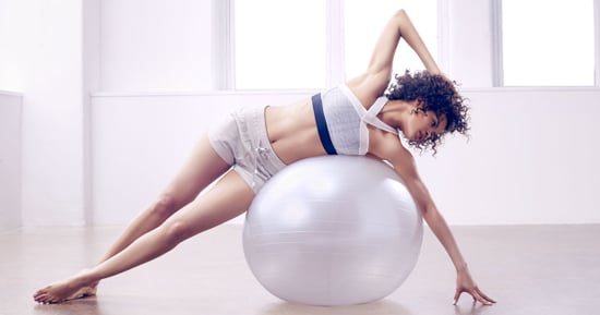 The Exercise Ball Workout for Your Tightest Abs and Butt Ever
