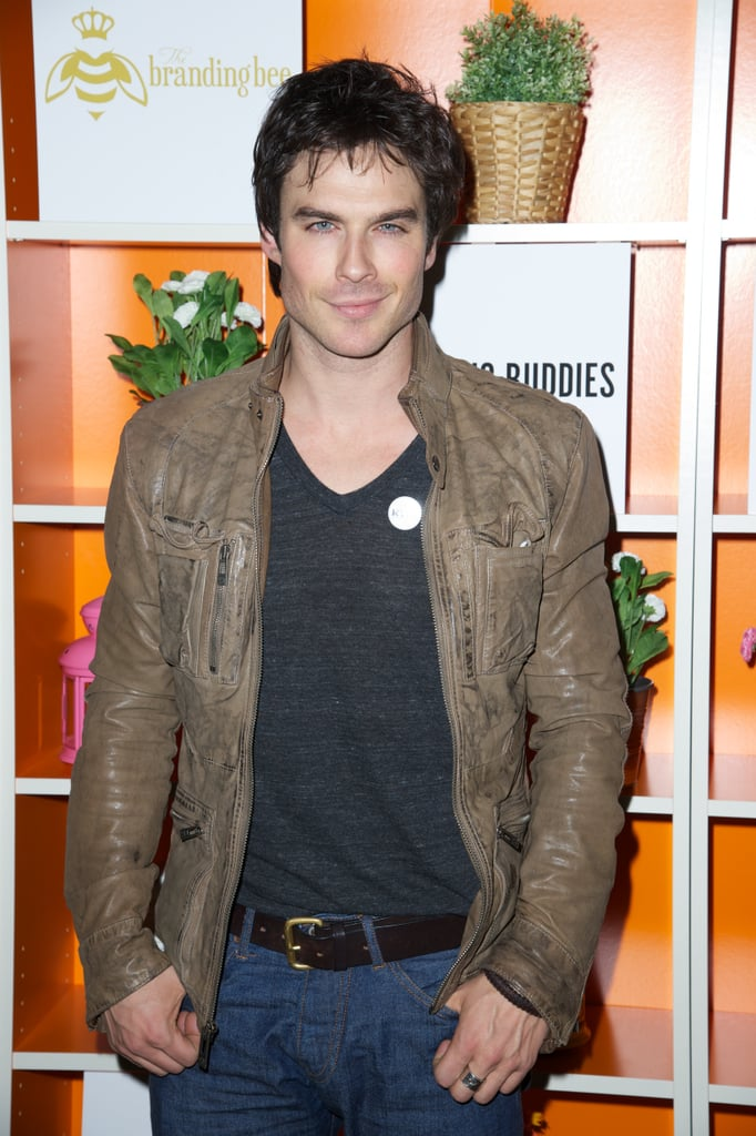 Ian Somerhalder attended the after party for Drinking Buddies at SXSW.