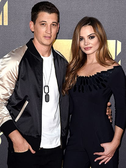 Super Smooch! Miles Teller and Keleigh Sperry Pack on the PDA at the MTV Movie Awards