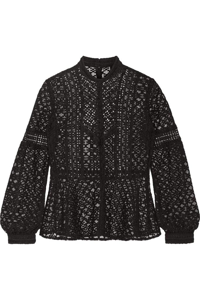 Anna Sui Emboridered Top ($300)