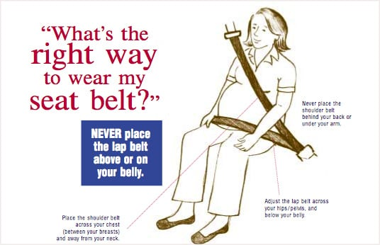 Seat Belt Safety for Pregnant Women